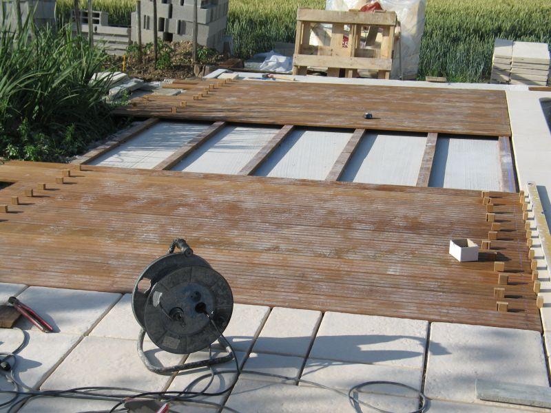 d coration terrasse piscine bois. Black Bedroom Furniture Sets. Home Design Ideas