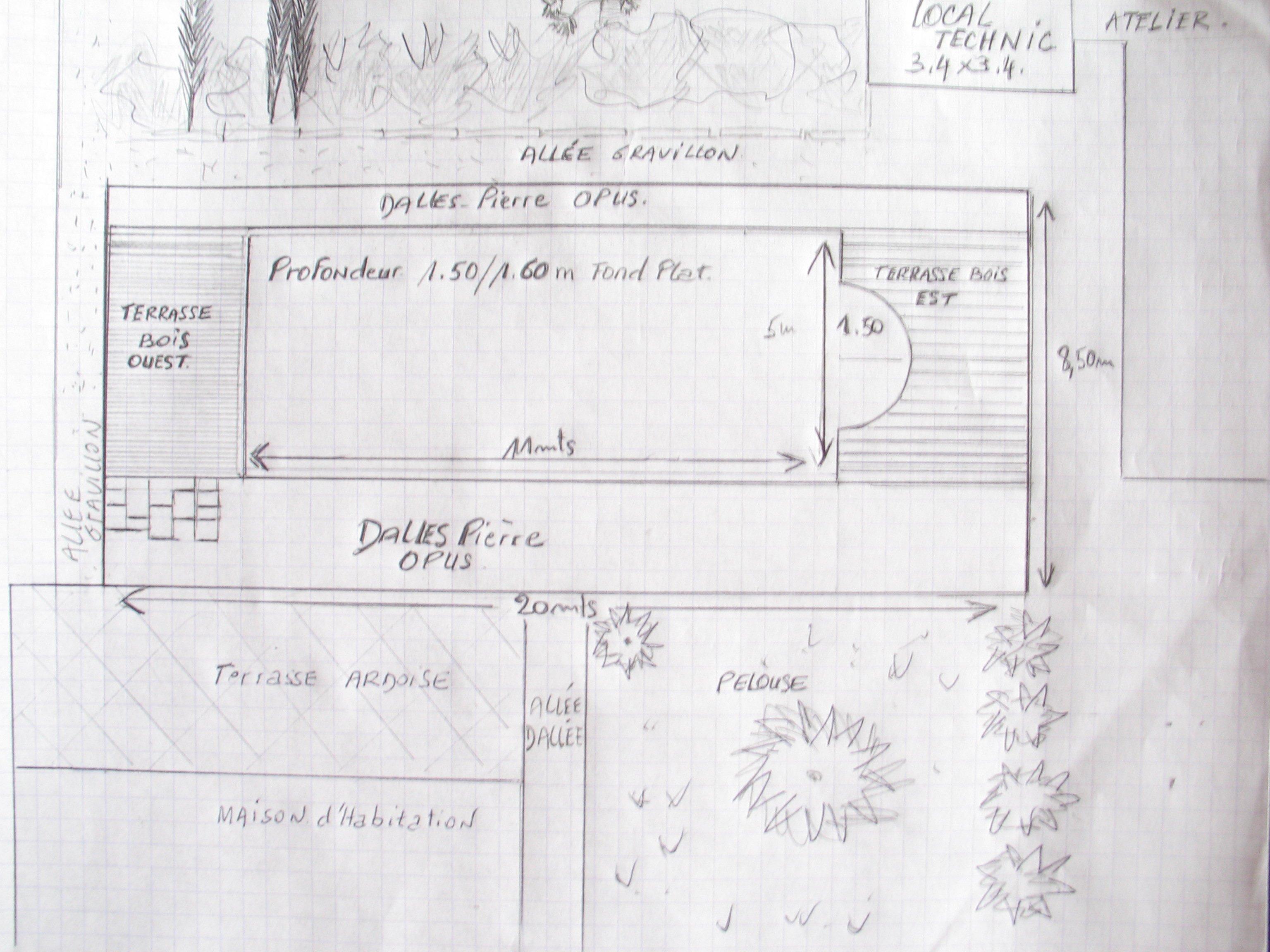 Construire sa piscine 2009 d cembre for Plan local piscine